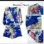 เสื้อผ้าแฟชั่น พร้อมส่ง จั๊มสูทลายดอกไม้งาน ZARA thumbnail 3