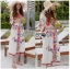 Ariana Bohemian Colorful Embroidered Cotton Dress thumbnail 4