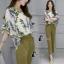 เสื้อผ้าเกาหลี พร้อมส่งGreen Garden Luxury Set thumbnail 2