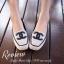 รองเท้าคัชชูส้นแบนหัวตัด วัสดุผ้าทออย่างดี หน้าเย็บ Logo CC พื้นตีแบรนด์ CHANEL thumbnail 4
