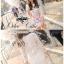 ( พร้อมส่ง) มินิเดรสลุคหรูหราแบบสาวหวาน เนื้อผ้าลูกไม้ทอลาย ดีเทลพิมพ์ลายดอกไม้สีสันสดใสบนเนื้อผ้าที่เป็นลูกไม้ แขนสามส่วน เน้นซิลลูเอทเป็นทรงสวยมากค่ะ มีซับในในตัว thumbnail 10