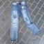 เสื้อผ้าเกาหลีพร้อมส่ง กางเกงยีนส์Boyfriendขายาว thumbnail 12