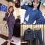 เสื้อผ้าแฟชั่นพร้อมส่ง เซ็ท เสื้อ+กางเกง ยีนส์แท้ 100% thumbnail 9