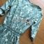 เสื้อผ้าเกาหลี พร้อมส่งเพลย์สูทสีเขียวมิ้นท์พิมพ์ลายดอกเดซี่สไตล์เฟมินีน thumbnail 12