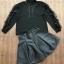 เสื้อผ้าแฟชั่นพร้อมส่ง เซ็ตเสื่อแขนยาวสีดำ thumbnail 3