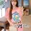 ( พร้อมส่งเสื้อผ้าเกาหลี) เสื้อยืดพิมพ์ลายเป็ด Disney Donald Duck ตัวนี้เหมาะกับสาวขี้เล่น ชอบความสนุก รักกางแต่งตัว เสื้อผ้าเนื้อดีพิมพ์ลายเป็ดโดนัลด์ดั๊ค น่ารักมากๆค่ะ ช่วงลายตรงคำพูดปักเลื่อมแบบประณีตมากๆ ช่วยเพิ่มลูกเล่นให้ดูไม่น่าเบื่อ thumbnail 3