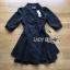 Jasmine Feminine Chic Black Outer Dress thumbnail 6