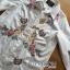 เสื้อผ้าเกาหลี พร้อมส่งเชิ้ตเดรสสีขาวปักลายครอสติส thumbnail 10