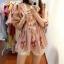 เสื้อผ้าเกาหลีพร้อมส่ง เสื้อคอวี แขนตุ้กตาพองกำลังสวย thumbnail 7