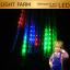 ไฟดาวตก8แท่งสีรวม RGB ยาว 30 เซ็นติเมตร ไฟประดับตกแต่ง thumbnail 1