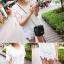 เสื้อผ้าเกาหลี พร้อมส่ง เสื้อลูกไม้ฉลุลาย ซีทรู แต่งลายฉลุตาข่ายซีทรู thumbnail 5