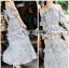 Diana Country Rich Girl Ruffle Layered Flower Dress thumbnail 4