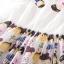 ( พร้อมส่งเสื้อผ้าเกาหลี) เดรสลายตุ๊กตา ผ้าเนื้อดีทรงปกคอบัวติดรูปตุ๊กตา 2 ข้าง แขนสามส่วน กระโปรงพิมพ์ผ้าพิมพ์ลายทั้วตัวน่ารัก ทรงเอวขอบ งานสวยเนี๊ยบใส่แล้วดูสวยมากๆ รุ่นนี้งานจริงสวยน่ารักมากๆ thumbnail 8
