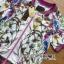 เสื้อผ้าเกาหลี พร้อมส่งเซ็ตแจ๊กเก็ตและกางเกงขาสั้นพิมพ์ลายดอกไม้ thumbnail 10