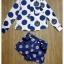 เสื้อผ้าเกาหลี พร้อมส่ง เซ็ทเสื้อ+กางเกงขาสั้นงานแบรนด์ดัง SS15 thumbnail 6