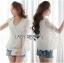 Maria Elegant Double-Breast White Lace Jacket thumbnail 8