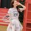 เสื้อผ้าเกาหลี พร้อมส่งเซ็ทเสื้อกับกระโปรงแบรนด์เนม ดีเทลแต่งรูปน้องแมวน่ารัก thumbnail 8