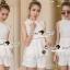เสื้อผ้าเกาหลี พร้อมส่ง Princess Ivora Lace Set thumbnail 4
