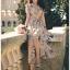 Miranda Country Chic Blossom Ruffle Wrap Dress thumbnail 5