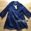Aerin Winter Double-Breast Denim Coat thumbnail 10