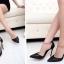 รองเท้านำเข้าพร้อมส่ง รับประกันคุณภาพ ใส่ดี ไม่ซ้ำใครจร้า.. รองเท้าส้นสูงหัวแหลม หนังกลิตเตอร์ฟรุ้งฟริ้ง thumbnail 6