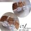 ต่างหูเพชร CZ เพชรเหลี่ยม ตัวเรือนชุบ 18K ไม่ลอกไม่ดำ ราคา 990฿ Made in korea thumbnail 4