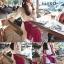 เสื้อผ้าเกาหลี พร้อมส่งเซ็ทเสื้อ+กระโปรง เวลาเดินกระโปรงพริ้วไสว thumbnail 5