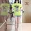 เสื้อยืด ผ้า Cotton 100% สกรีนลาย Moshino thumbnail 7