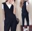 เสื้อผ้าเกาหลีพร้อมส่ง ชุดวอร์มผู้หญิง Sport Set 3 ชิ้น แนวสบายๆ thumbnail 5