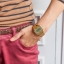 นาฬิกาข้อมือผู้หญิงCasioของแท้ A168WEGC-5 thumbnail 4