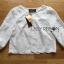 เสื้อผ้าเกาหลี พร้อมส่งเสื้อคลุมผ้าคอตตอนปักลายดอกไม้สไตล์เบสิก thumbnail 9