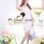 Ladies Sweetie Korea White Blouse thumbnail 3