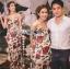 Dolce & Gabbana Red Roses Printed Evening Dress thumbnail 9