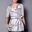 ( พร้อมส่งเสื้อผ้าเกาหลี) เสื้อคลุมสไตล์สูทเนื้อผ้าลูกไม้ See-Throught ดีซายส์เปิดคอ ปกใหญ่ Cutting สวยมากค่ะ สไตล์เสื้อแบบป้ายด้านหน้าผูกโบว์ด้านข้าง แต่งดีเทลเดินเส้นตัดขอบสีดำ ลุค Classic&Modern Style โทนสี Match กับเสื้อผ้าได้ง่าย หลากหลายสไตล์ เนื้อผ thumbnail 1