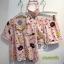 เสื้อผ้าเกาหลีพร้อมส่ง ชุดนอน Set 3 ชิ้น ผ้าเนื้อดี พิมพ์ลาย Line Brown and Friends thumbnail 8