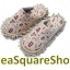 รองเท้าถูพื้น ไมโครไฟเบอร์ ลายอักษร 25 - 27 cm thumbnail 3
