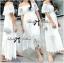 Emilia Bohemian Off-Shoulder Embroidered Cotton Lace Maxi Dress thumbnail 2