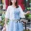 Eva Sweet Basic Embroidered Cotton Outerwear thumbnail 4