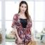 เสื้อผ้าเกาหลีพร้อมส่ง Zara Set เซต 3 ชิ้น (เสื้อคลุม+สายเดี่ยว+กางเกง) thumbnail 1
