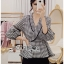 Tanya Smart Serene Checked Suit with Belt thumbnail 1