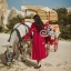European Chiffon Red Hot Showing Leg Long Sleeve Maxi Dress thumbnail 5