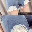 เสื้อผ้าแฟชั่นพร้อมส่ง กางเกงยีน korea style ขาสั้น แต่งลูกไม้ thumbnail 5