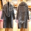 Winter Big Shawl Collar Long Knit Coat thumbnail 4