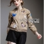 Sally Sporty Butterfly Embroidered Nylon Bomber Jacket thumbnail 4