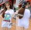 ( พร้อมส่งเสื้อผ้าเกาหลี) เสื้อยืดพิมพ์ลายเป็ด Disney Donald Duck ตัวนี้เหมาะกับสาวขี้เล่น ชอบความสนุก รักกางแต่งตัว เสื้อผ้าเนื้อดีพิมพ์ลายเป็ดโดนัลด์ดั๊ค น่ารักมากๆค่ะ ช่วงลายตรงคำพูดปักเลื่อมแบบประณีตมากๆ ช่วยเพิ่มลูกเล่นให้ดูไม่น่าเบื่อ thumbnail 4