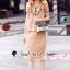 เสื้อผ้าเกาหลีพร้อมส่ง Oranginaa Latte Leaf Lace Chic Set thumbnail 1