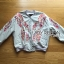 Grazia Sporty Flower Embroidered Cotton Bomber Jacket thumbnail 7