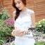 ชุดเดรสเกาหลี พร้อมส่งเดรสลุคหรูหราแบบสาวหวาน เนื้อผ้า polyester thumbnail 4