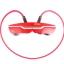 ZONOKI ZONOKI B97 หูฟังบลูทูธ bluetooth stereo headset แบตเตอรี่ในตัว รับโทรศัพท์ได้ -red thumbnail 1