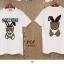 เสื้อยืด ผ้า Cotton 100% สกรีนลาย Moshino thumbnail 10